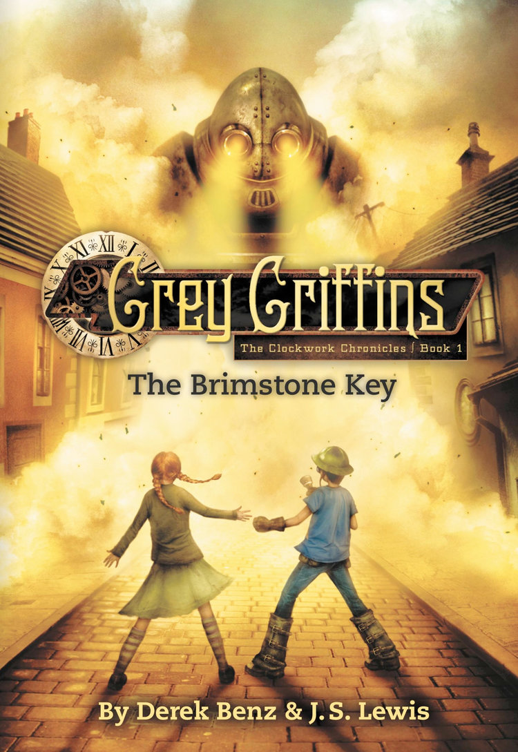 Grey Griffins: The Brimstone Key by Derek Benz & J.S. Lewis Designed by Ben Mautner for Little, Brown Illustrated by Vincent Chong