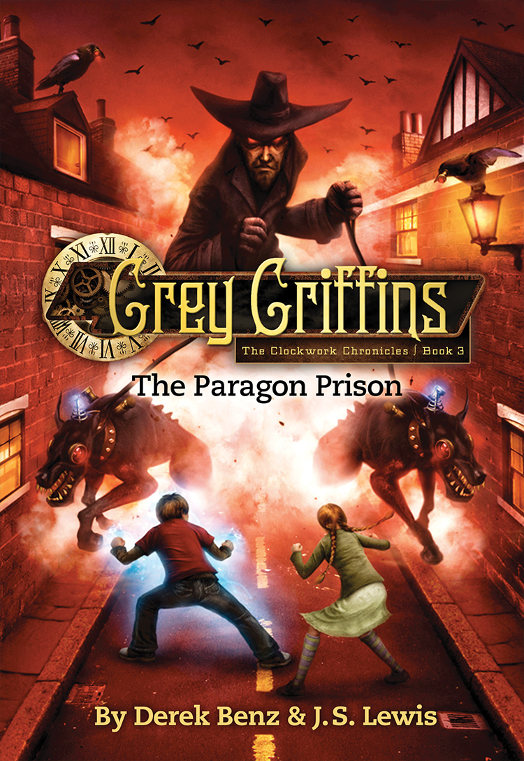 Grey Griffins: The Paragon Prizon by Derek Benz & J.S. Lewis Designed by Ben Mautner for Little, Brown Illustrated by Vincent Chong