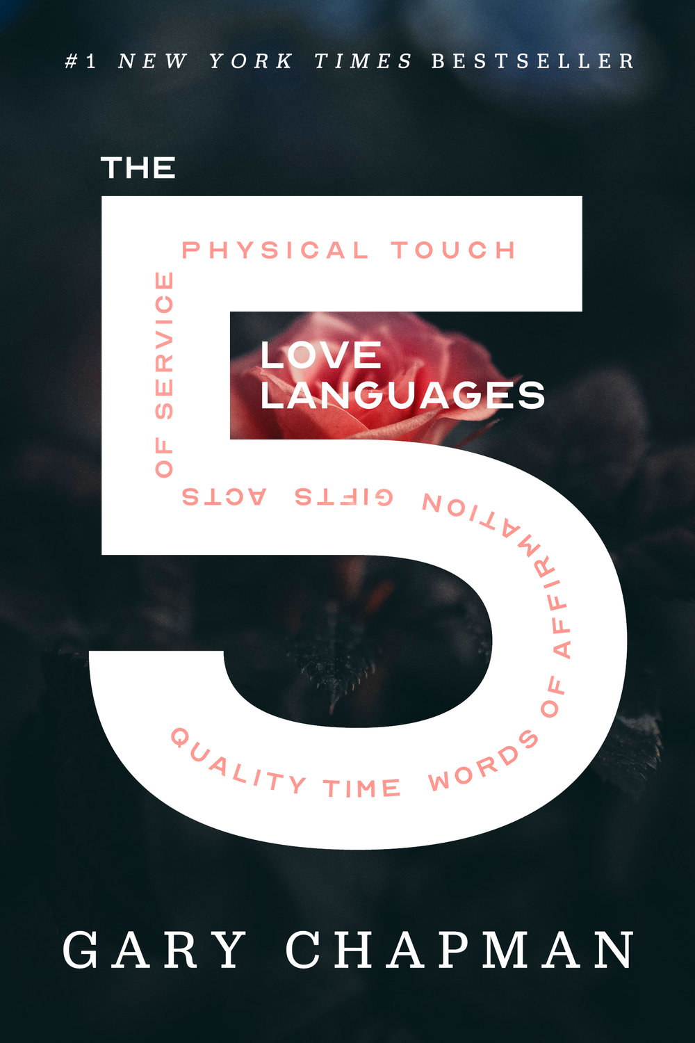 The 5 Love Languages by Gary Chapman Designed by Ben Mautner for One Hour Covers