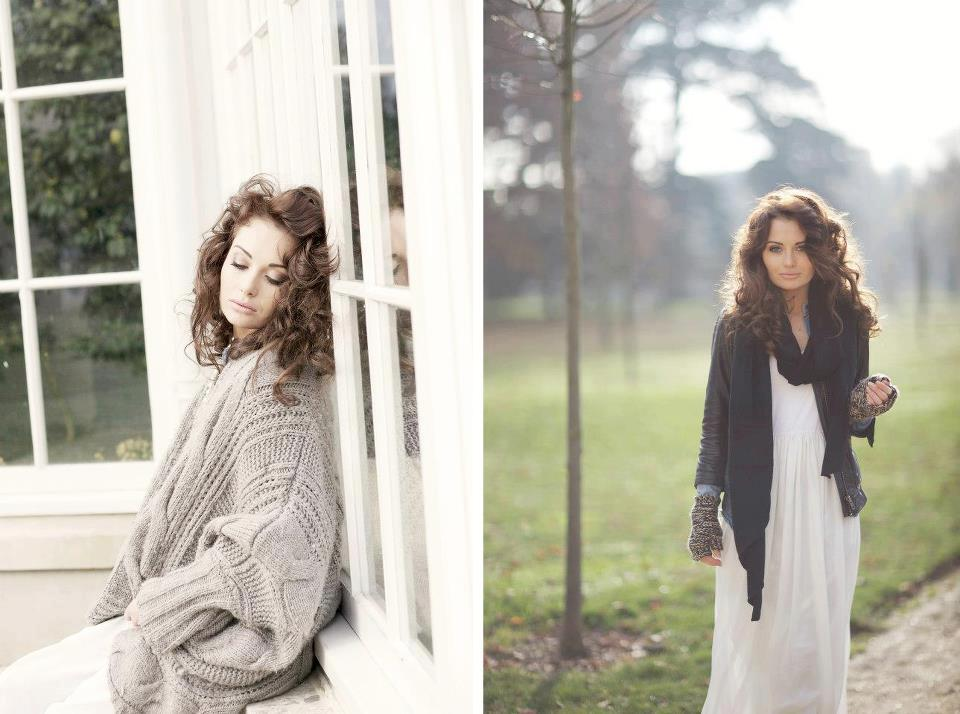 Image above: Scarlett Davies, Actress and Model on her full day shoot in chiswick