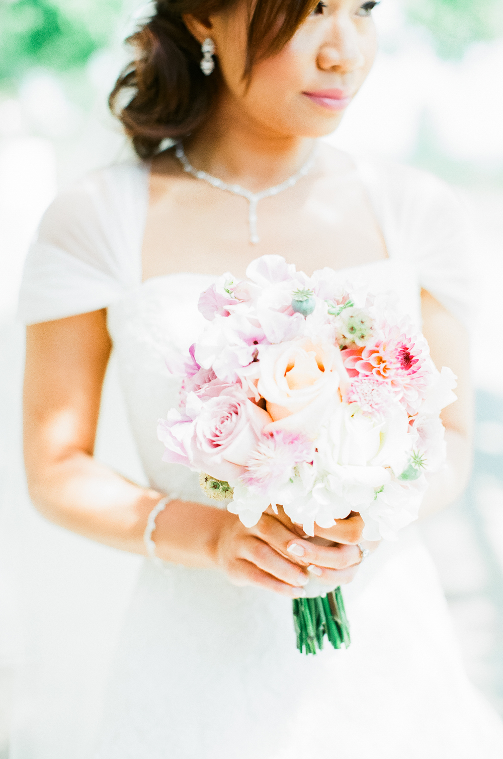 Gorgeous summer wedding and chinese tea ceremony by katie julia