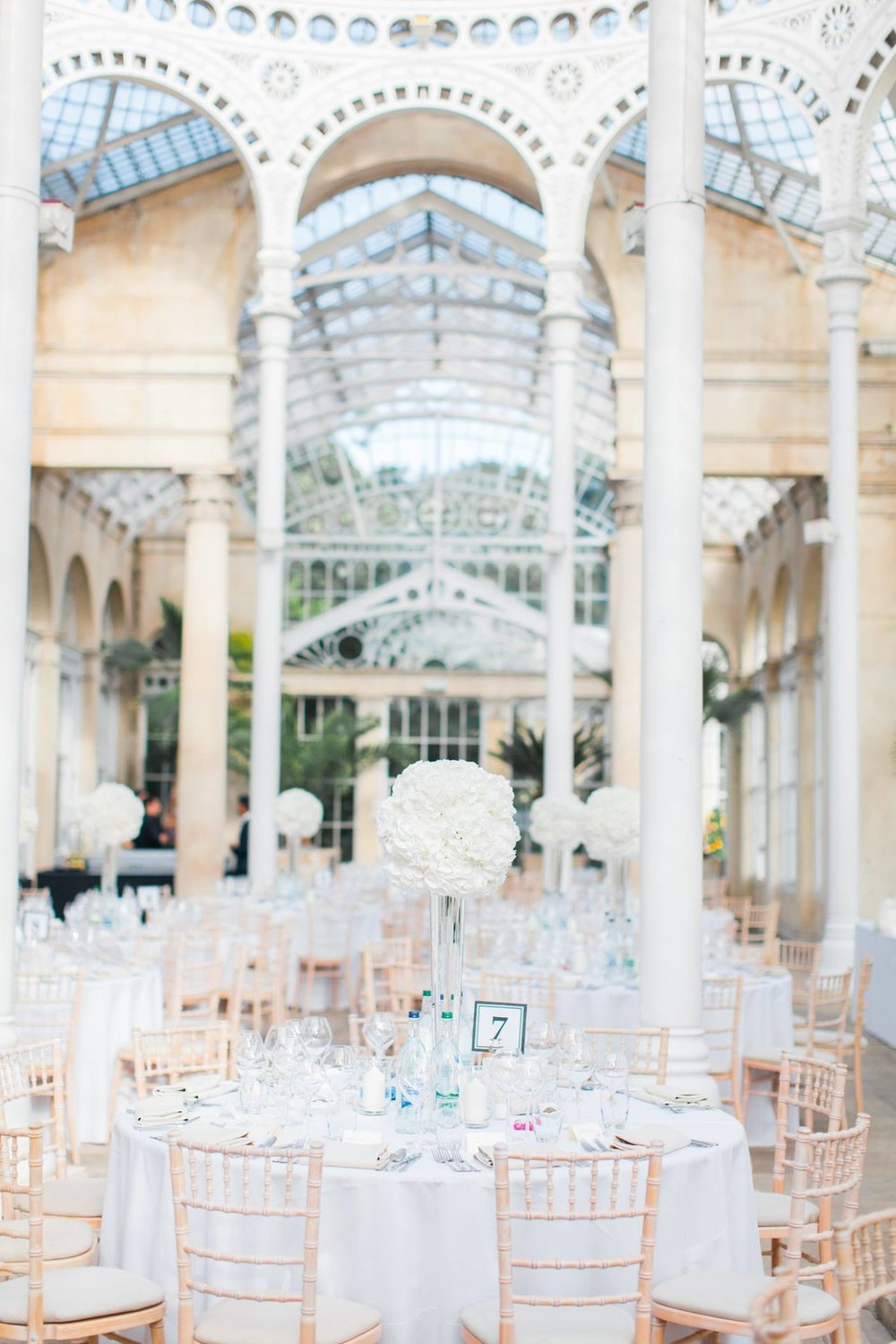 Gorgeous Syon Park White Summer Wedding.