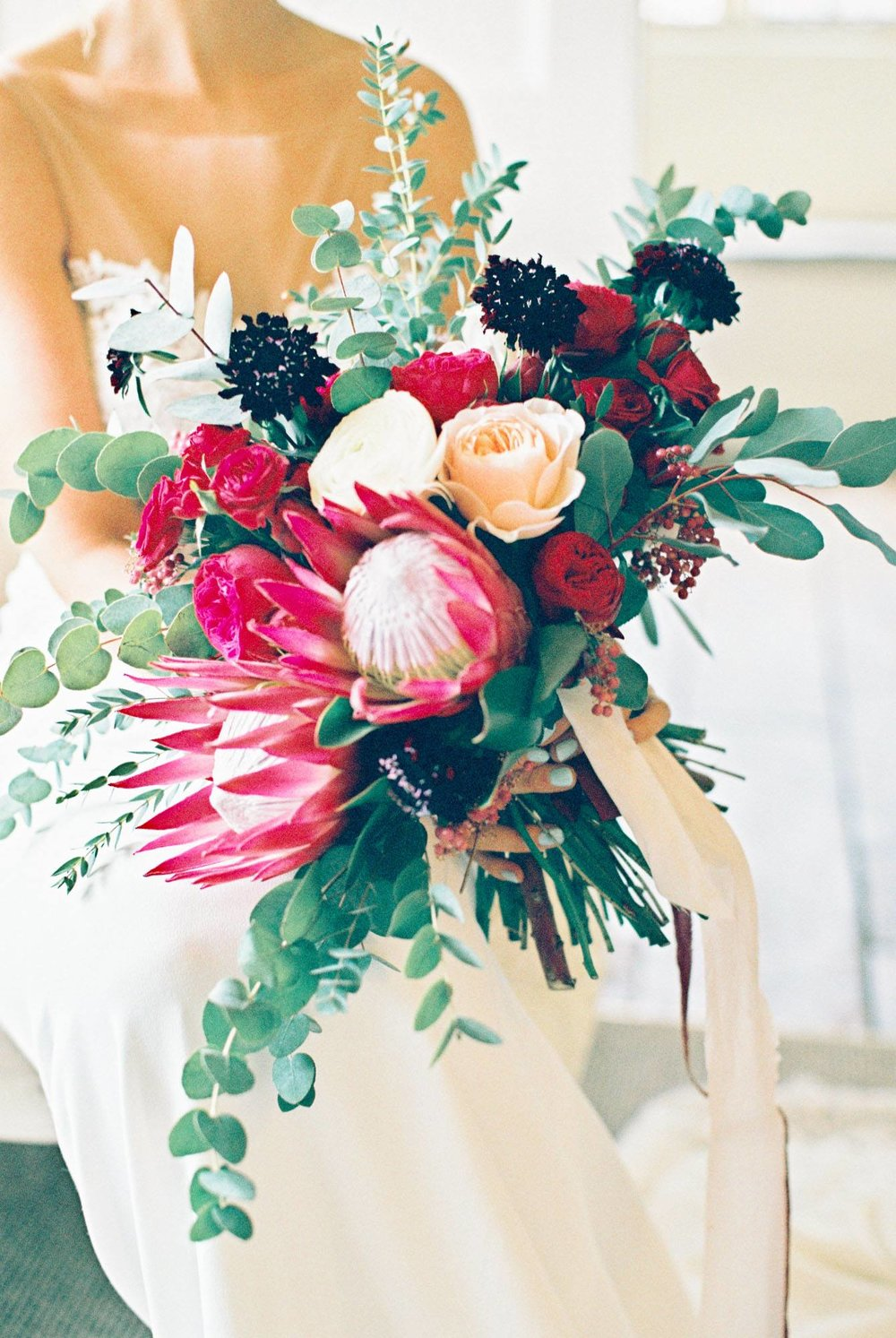 Luxury Winter Wedding Red and black themed