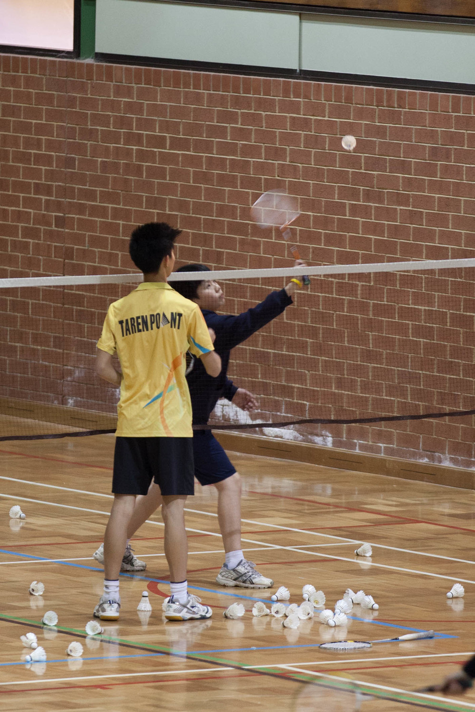 Sturt Badminton Club Junior development coaching   Photo courtesy of    Joseph Chan    2013