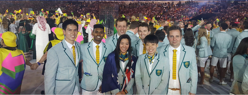 RIO OLYMPIC GAMES 2016 Courtesy of https://www.facebook.com/BadmintonAustralia/