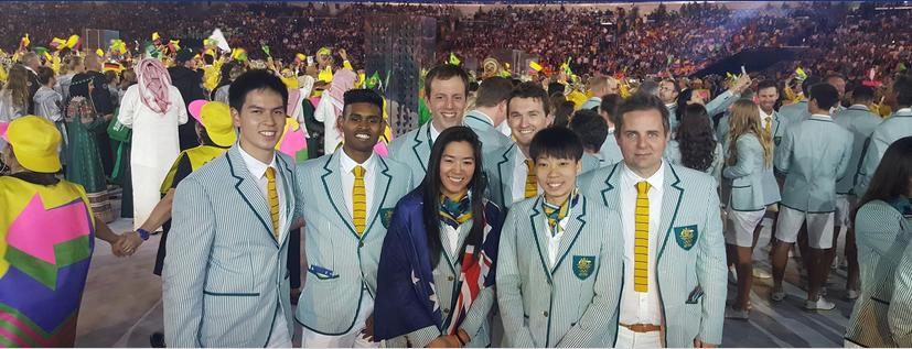 RIO OLYMPIC GAMES 2016 Courtesy of https://www.facebook.com/BadmintonAustralia/