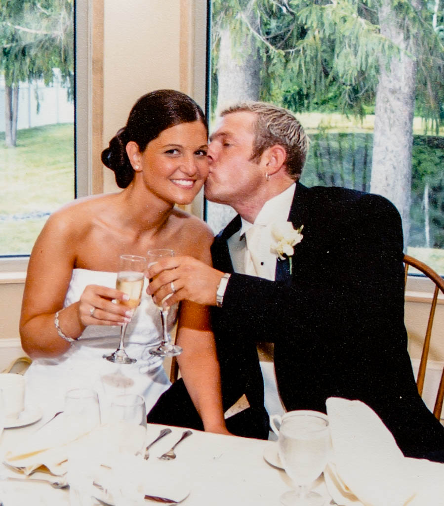 Our wedding - 2005