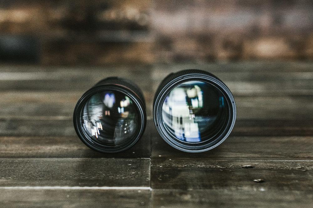 Canon 135L (LEFT) / Sigma 85ART (RIGHT)