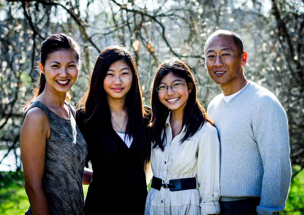 Pastor Sung Kim and Family