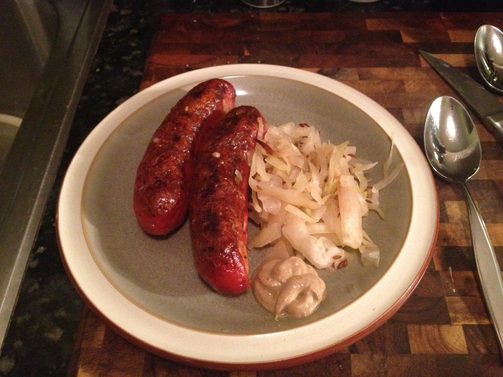 ....with farm fresh bratwurst!