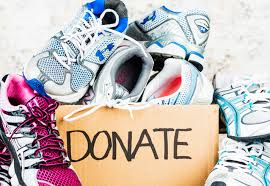 3.  DONATE YOUR RUNNING SHOES!