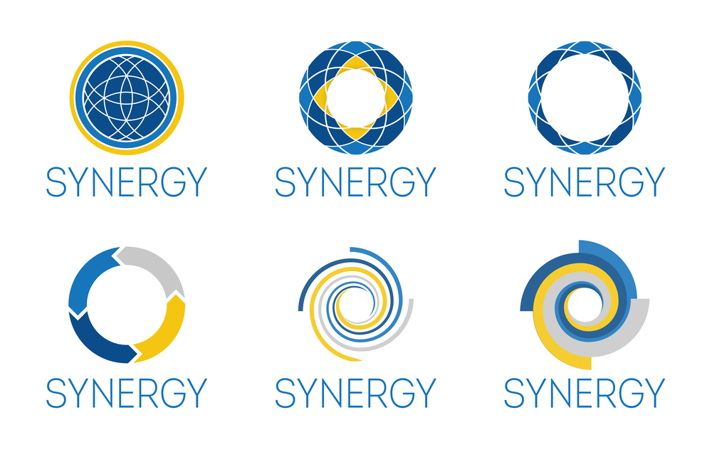 Synergy (business conference) Logo Design Options | Great Dane Trailers | Savannah, GA