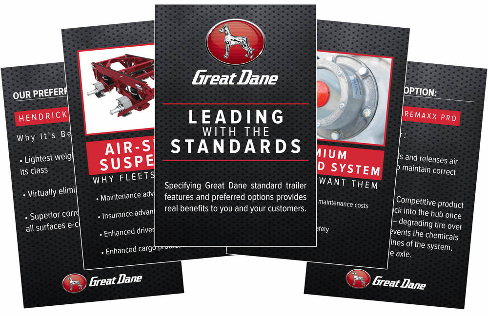 Sales Cards | Great Dane Trailers | Savannah, GA