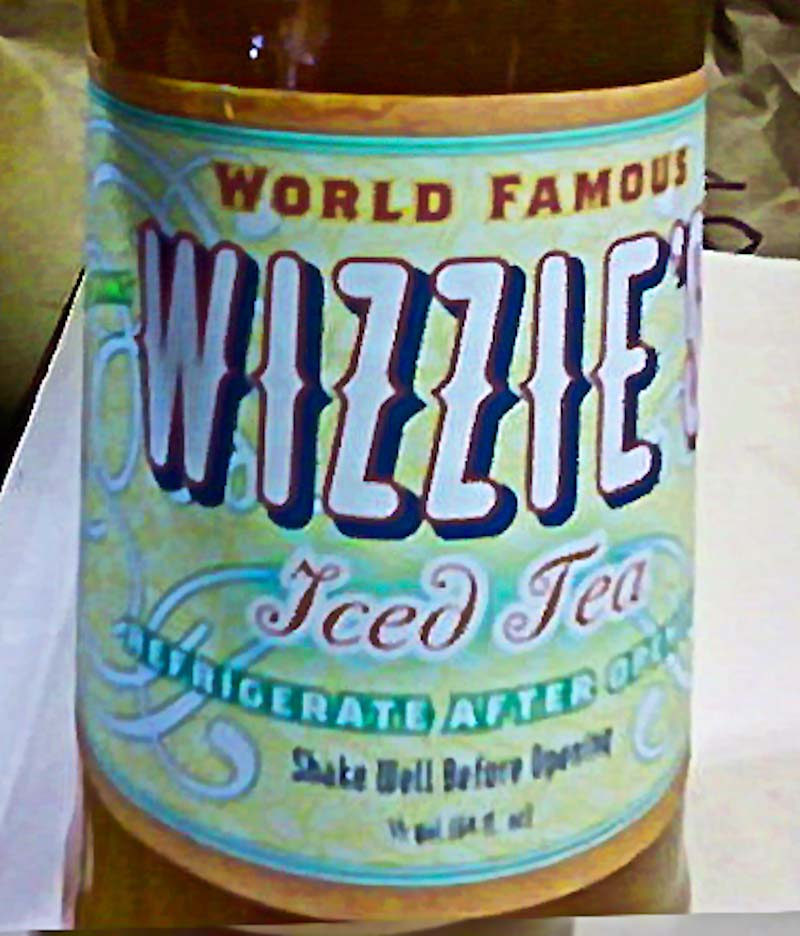 Wizzie's Iced tea