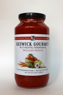 Keswick Gourmet Low Sodium Marinara