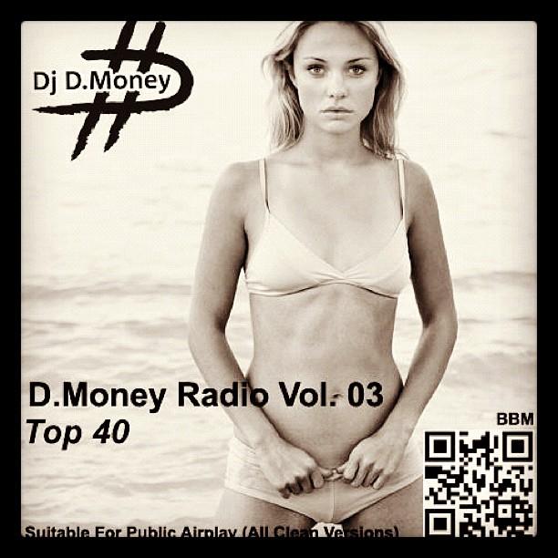 New TOP 40 Mix is up. Soundcloud.com/iamdjdmoney/dmrv03 (Taken with  Instagram  at D.Money Studio)