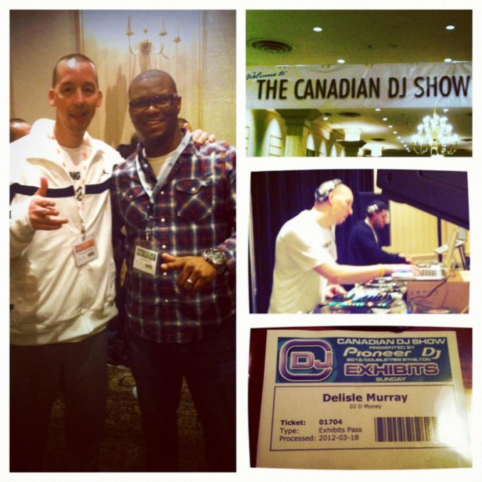 20120318 - The Canadian DJ Show: Toronto. Good times, new connections, old faces, memories!