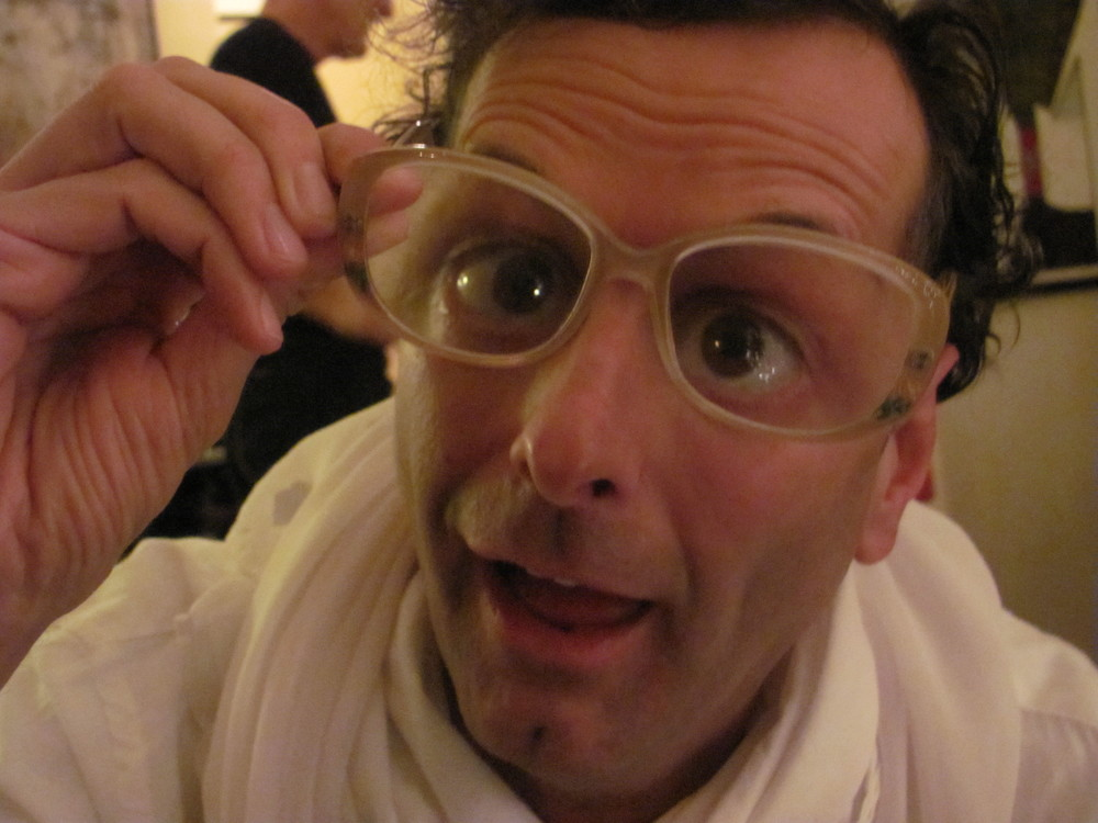 Jan brings his Viennese good looks to any trendy eyewear.