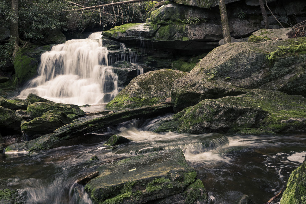 The second cascade.