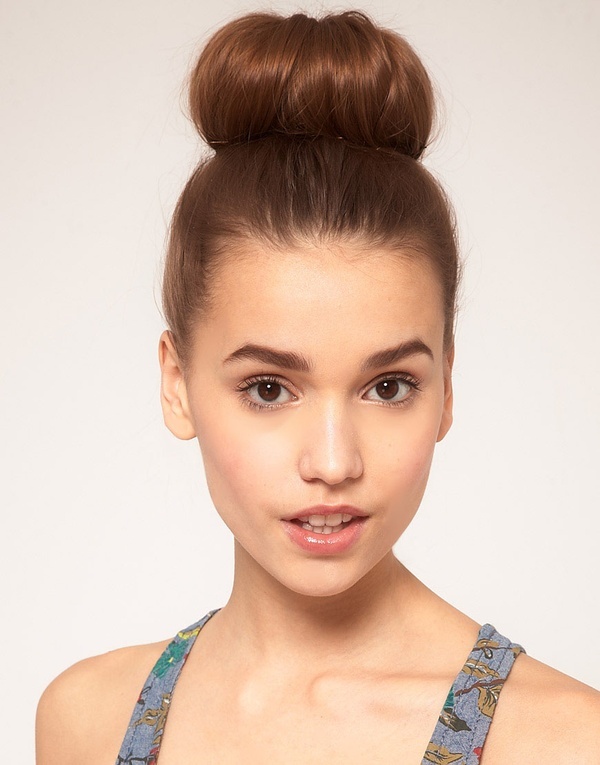 Brilliant Bun Hairstyles High Pictures To Pin On Pinterest