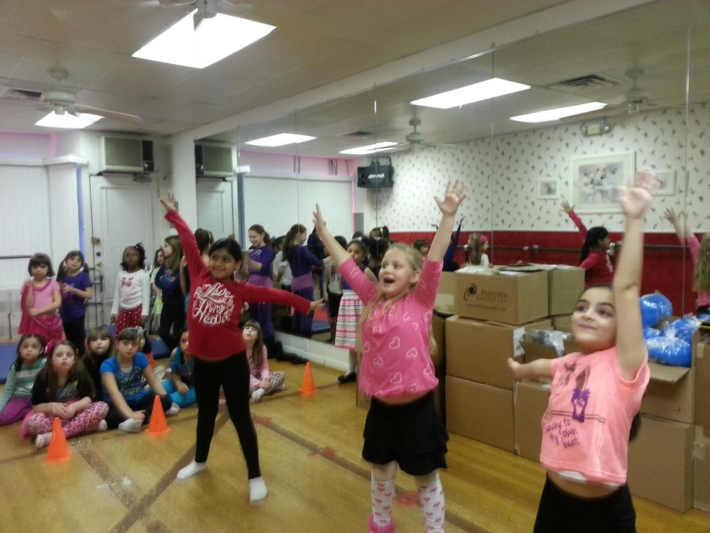 "Our younger students got to play Xbox too with ""Disney Just Dance."""