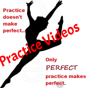 Links to this year's routines will be up here to make it easier to practice.
