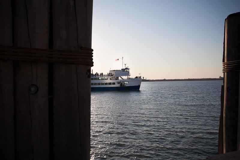 To Liberty Island
