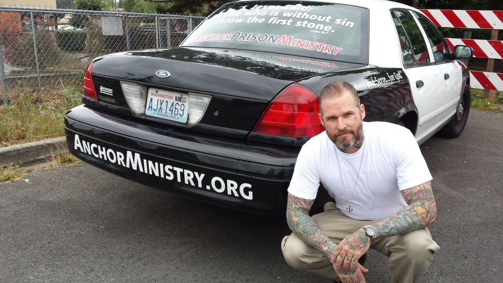 John Ewell founded the nonprofit Anchor Ministry four years ago to reach out to inmates at area prisons.—Image Credit: Courtesy Photo