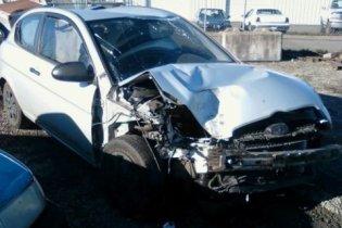 aftermath of car crash