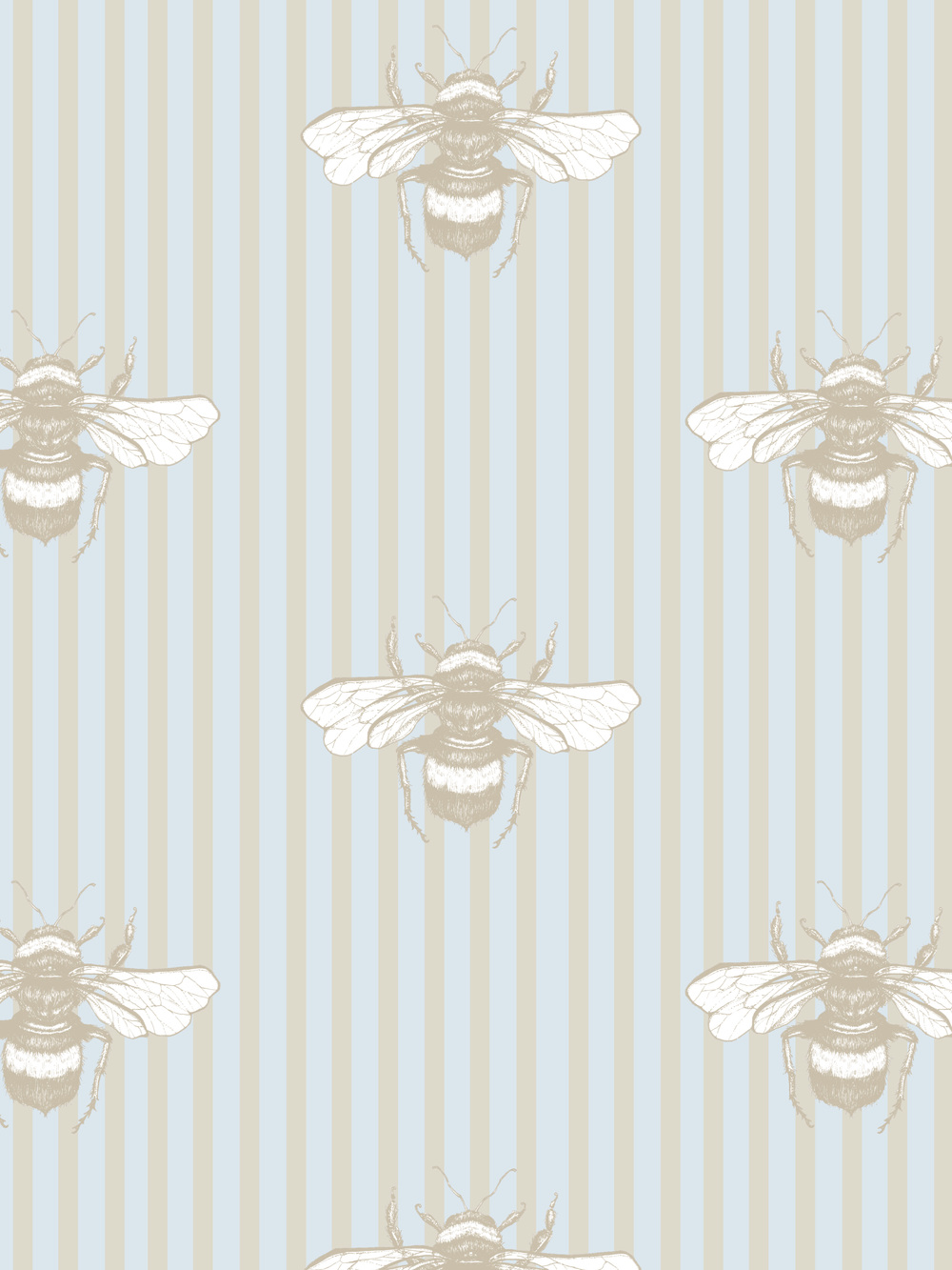 Playing around with the idea of having some honey bee wallpaper! Bzz.