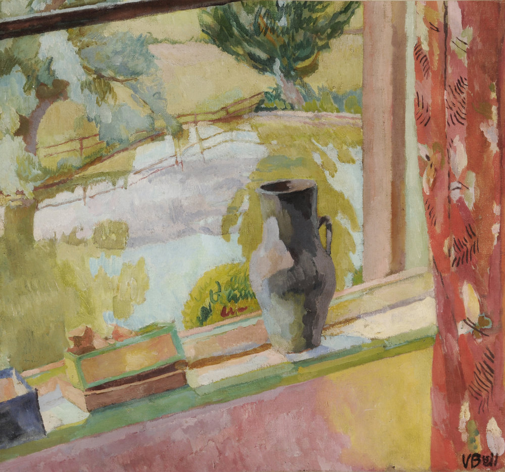 View of the Pond at Charleston, Vanessa Bell.