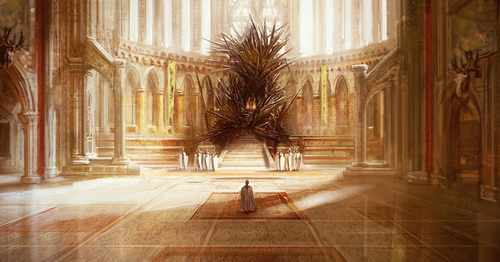 The Iron Throne, by  Marc Simonetti.