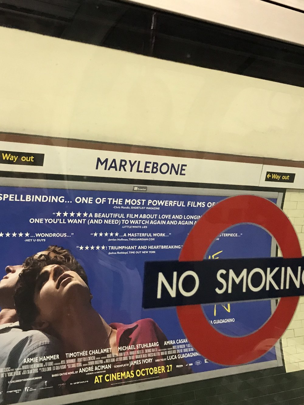 Marylebone Station - As seen in