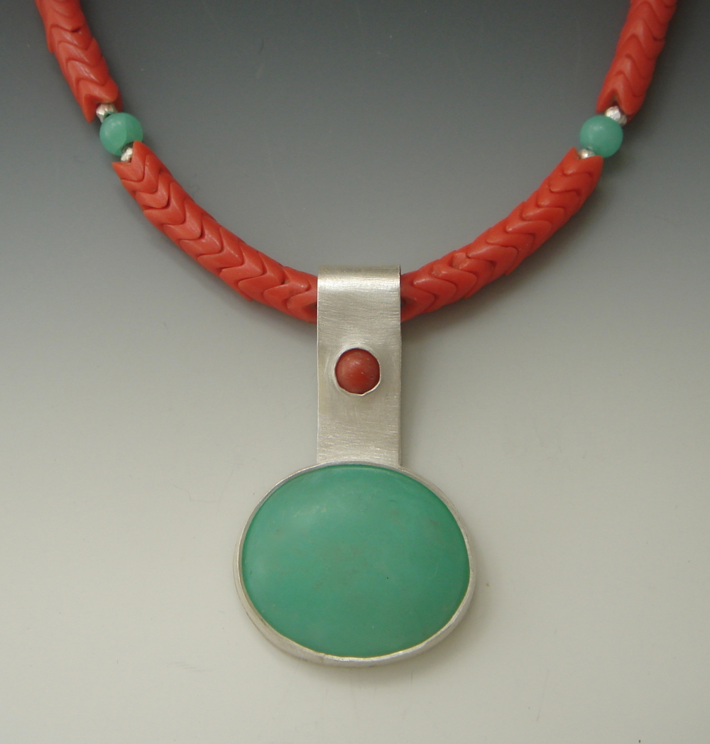 Southwest Serenade Chalcedony, Coral, Snake Coral, Andean Opal Beads $415