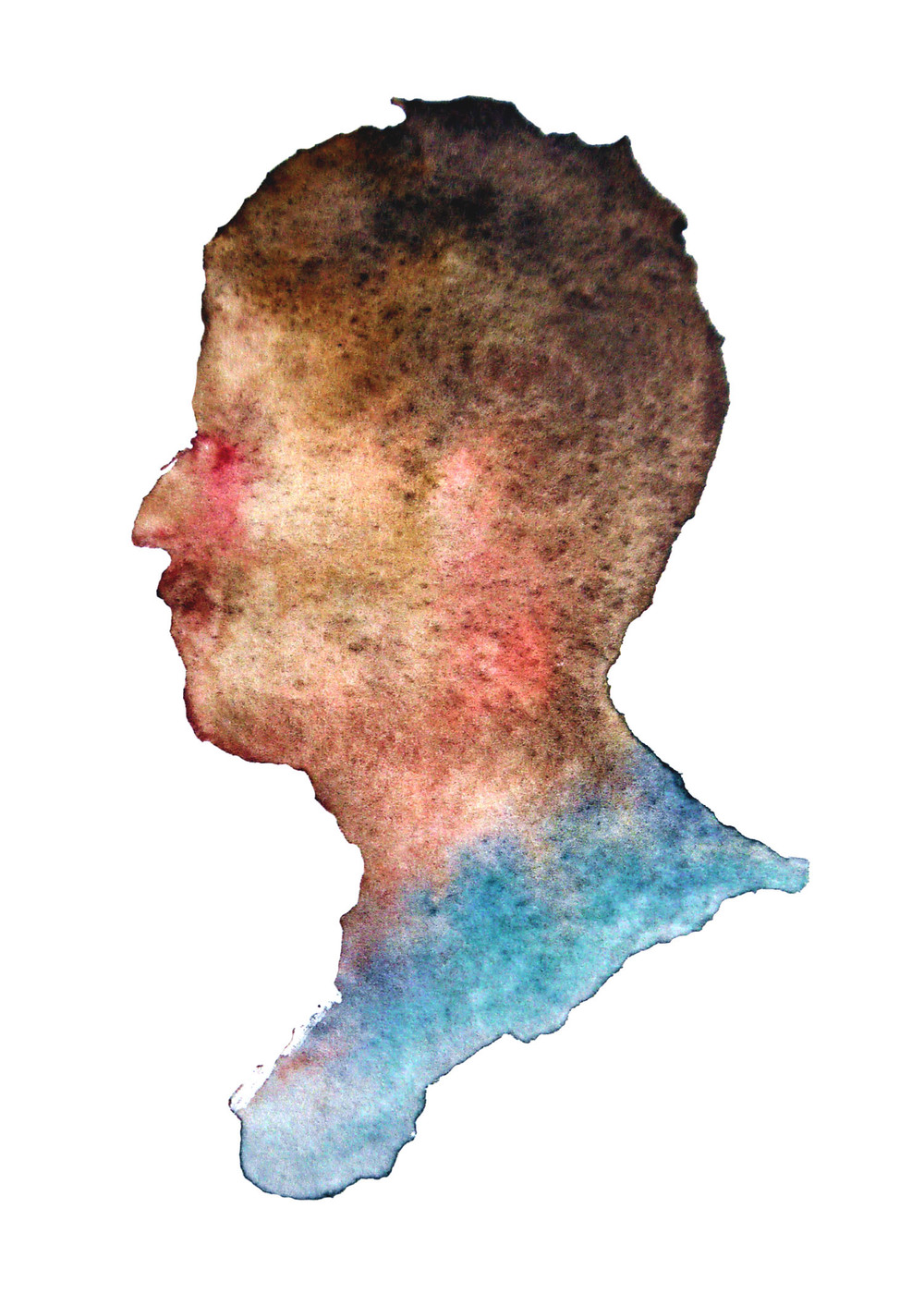 "Spencer, 2012 Watercolor 3""x4"""
