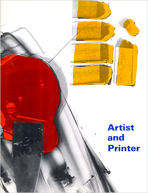 Artis and Printer catalog cover, Walker Art Center, 1980