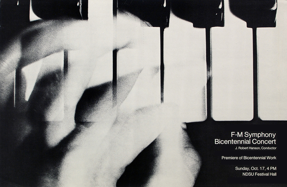 F-M Symphony poster