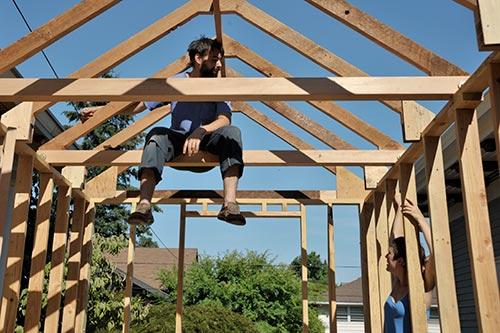 roof-beams