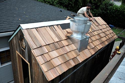 Half-roof