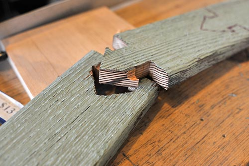 Test-joint-cut