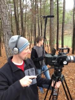 Shooting 'Exodus Road.'