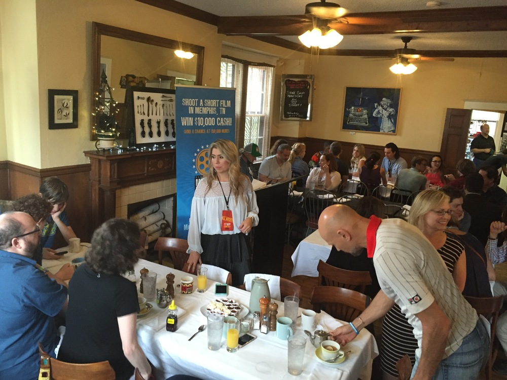The awards brunch at Stone Soup