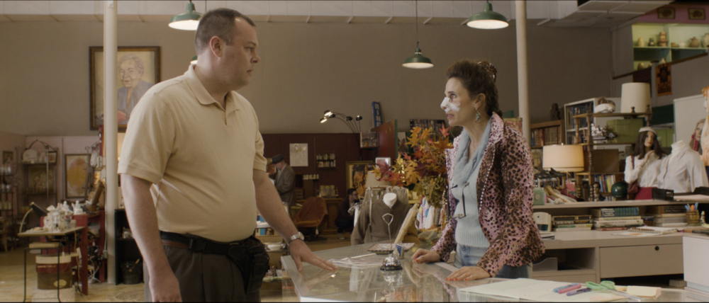 Michael Gladis  and  Michaela Watkins  in  Antiquities (2018)