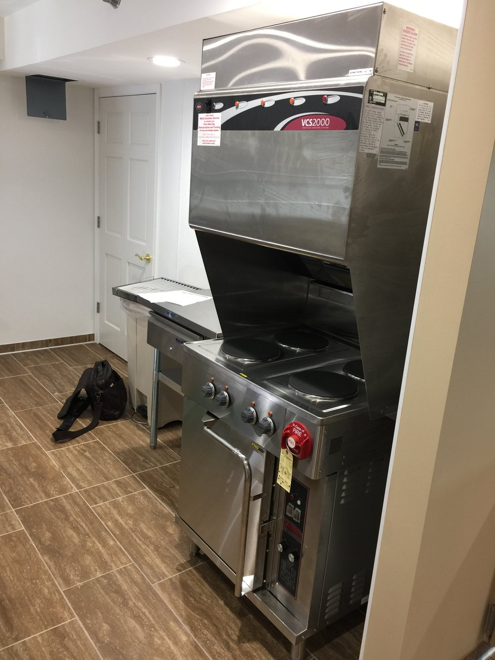 Ventless Cooking Platform for Assisted Living