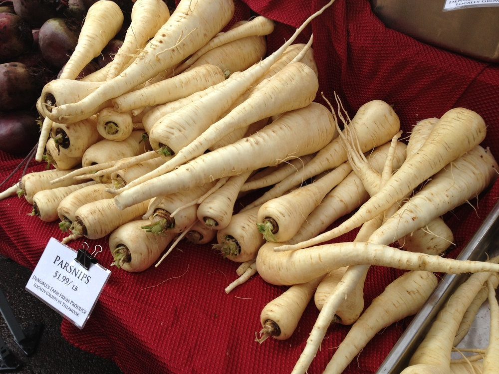 A Brace of Parsnips