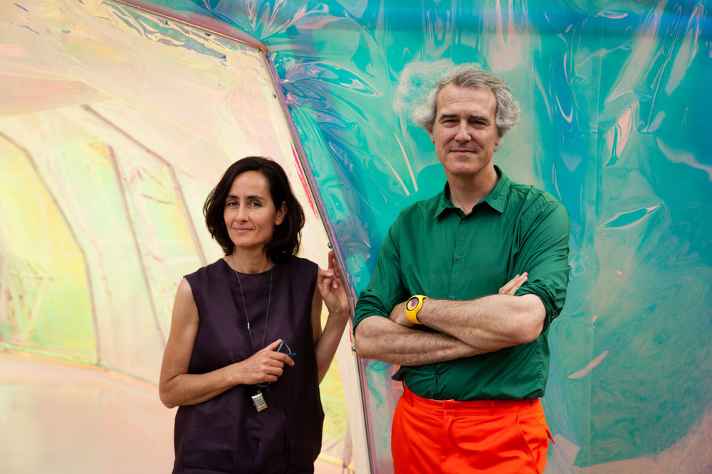 José Selgas and Lucía Cano, 2015