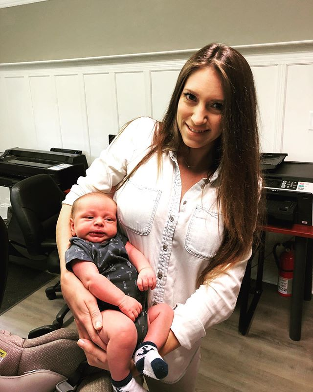 Welcome the newest member of the RGH team... Baby Nick.