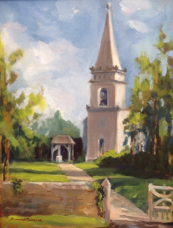 """Church in the Cotswolds"""
