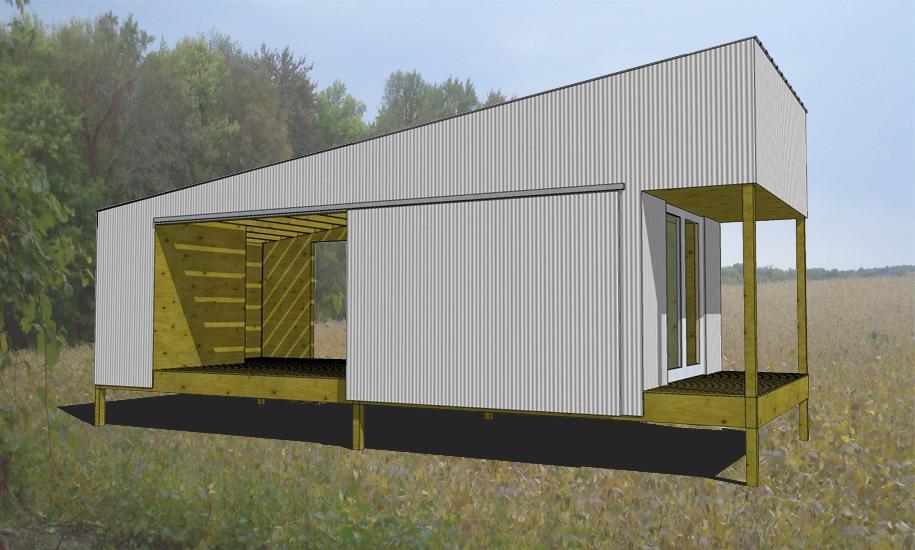 Dogtrot Cabin Jeff Jordan Architects
