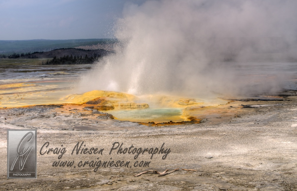 Spasm Geyser, Yellowstone National Park